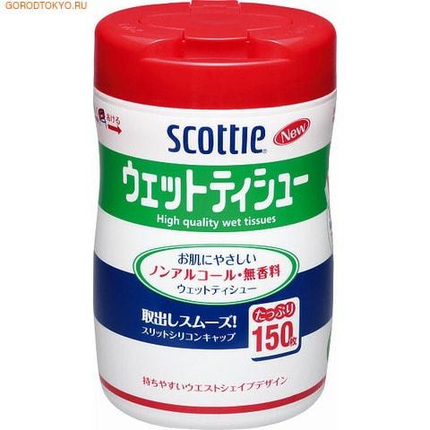 """KAO ������� �������� ��������, """"Scottie Wet Tissue"""", 150 ��."""