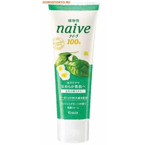 KRACIE «Naiv» Пенка для умывания c экстрактом чайного листа, для проблемной кожи, 110 гр.