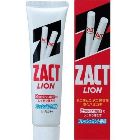 """Lion """"Zact"""" Зубная паста для устранения никотинового налета и запаха табака, 150 гр."""