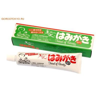 """Fudo Kagaku """"Binotomo"""" Зубная отбеливающая паста для защиты от кариеса и зубного камня, 180 гр."""