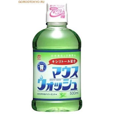 NISSAN Средство для полоскания рта и устранения неприятного запаха с мягким ароматом мяты, 500 мл.