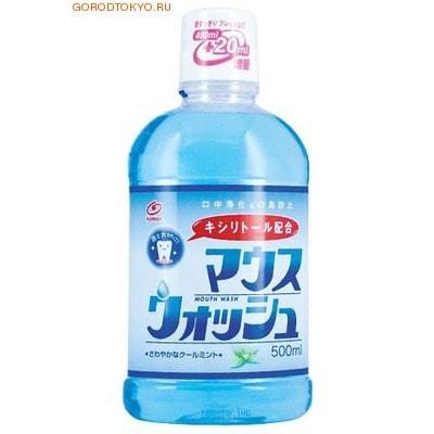 NISSAN Средство для полоскания рта и устранения неприятного запаха с нежным ароматом мяты, 500 мл.
