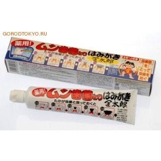 """Fudo Kagaku """"BINOTOMO-KINTORO"""" Детская освежающая зубная паста с маслом японского кипариса, 75 гр."""