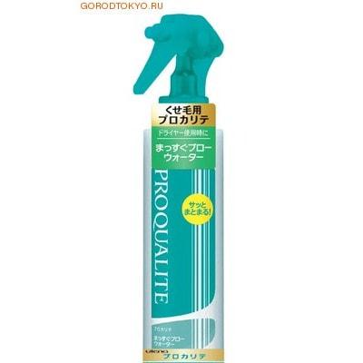UTENA «Proqualite» Спрей с коллагеном для волнистых и непослушных волос с защитой от термического воздействия, 200 мл.
