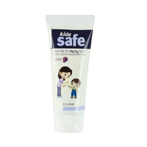 """CJ LION """"Kids Safe"""" Зубная паста детская """"Виноград"""" (от 3-х до 12 лет), 90 гр."""