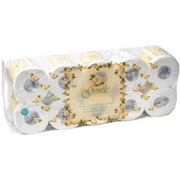 GOTAIYO Трехслойная туалетная бумага с тиснением, с ароматом «Европы», 10 рулонов.