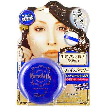 "Sana ""Pore Putty Face Powder"" / Пудра компактная для лица (прозрачная). (фото)"
