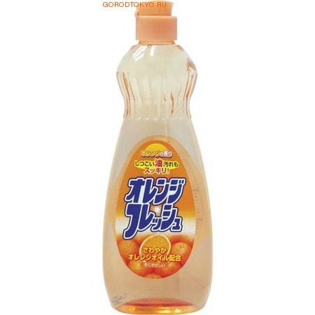 ROCKET SOAP Жидкость для мытья посуды «Fresh – свежесть апельсина», 600 мл.Для мытья посуды<br>Средство с приятным апельсиновым ароматом отлично растворяет жир и удаляет загрязнения с посуды и кухонной утвари.   Благодаря маслу апельсина в составе,  жидкость  подходит даже для мытья фруктов и овощей и не причиняет вред коже рук.<br>