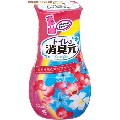 KOBAYASHI Дезодорант жидкий для туалета «Shoshugen – спа-аромат медовых цветов», 400 мл.