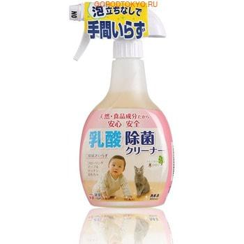 """KANEYO Экологически чистое средство """"Kaneyo Milk Acid"""" - спрей чистящий для дезинфекции, 400 мл."""