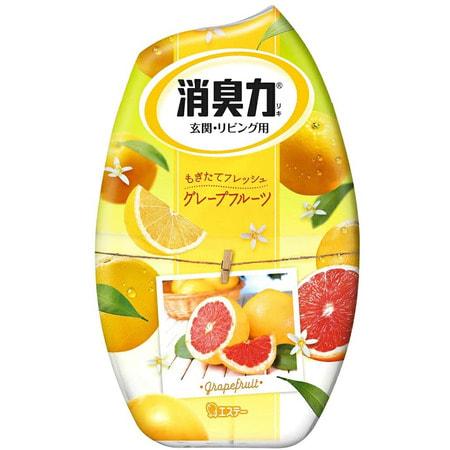 "ST ""Shoushuuriki"" Жидкий дезодорант – ароматизатор для комнат с ароматом грейпфрута, 400 мл."