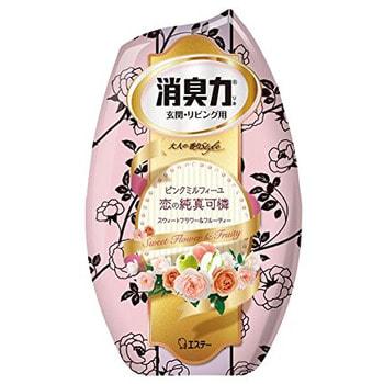 ST Shoushuuriki Жидкий дезодорант – ароматизатор для комнат с ароматом белого букета, 400 мл.Для комнаты<br>Серия дезодорирующих ароматизаторов Shoushuuriki - дезодорирующая сила  для комнат, предлагает Вам букет восхитительных ароматов на любой вкус.  Особенностью продукта является наличие в составе природных дезодорирующих компонентов, которые быстро и эффективно избавят от неприятных запахов, наполнив комнату мягким, изысканным ароматом.  Флакон ароматизатора с функцией регулирования интенсивности аромата обладает простым дизайном, идеально подходящим для комнаты. Способ применения: вскройте пленку по линиям отрыва.  Снимите верхнюю крышку, повернув ее, удалите только внутренний белый колпачек, после чего установите в первоначальное положение верхнюю крышку и поставьте изделие на ровную поверхность.  Состав: эфирные масла растений, ароматические вещества, поверхностно-активные вещества (неионогенное поверхностно-активное вещество, анион).<br>
