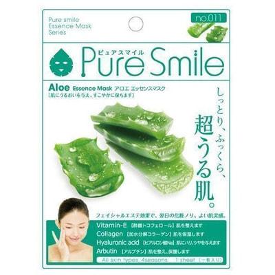 """SUN SMILE """"Essence mask"""" Увлажняющая маска для лица с экстрактом алоэ, 23 мл., 1 шт. от GorodTokyo"""