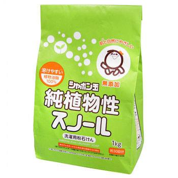 """Shabon """"Shabondama"""" """"Сноул"""" Натуральное порошковое мыло для стирки белья с кондиционером, 1 кг."""