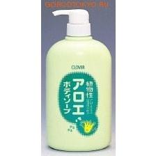 """CLOVER """"Clover"""" Увлажняющее жидкое мыло для тела с экстрактом алоэ, 800 мл."""