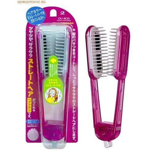 IKEMOTO Щетка для выпрямления волос, розовая.ДЛЯ ВОЛНИСТЫХ И НЕПОСЛУШНЫХ ВОЛОС<br>С помощью щетки для выпрямления волос Вы сможете сделать укладку, не выходя из дома.  Щётка имеет пластины, в состав которых входит силикон, который создает защитную пленку на волосах, склеивает расщепленные секущиеся кончики, облегчают расчесывание и укладку, придает волосам гладкость и привлекательный блеск.<br>