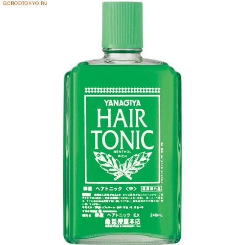 Yanagiya Hair Tonic Тоник против выпадения волос, 240 мл.ДЛЯ МУЖЧИН<br>Уход за волосами от Yanagiya это натуральные природные компоненты, отсутствие ароматизаторов, способных вызвать аллергические реакции, и лечебный эффект для ваших волос. Экстракт сверции японкой способствует росту волос интенсивно увлажняет и сохраняет влагу в самом сердце волоса. Экстракт женьшеня - способствует делению клеток, обладает прекрасными противовоспалительными свойствами, а также предупреждает старение. Плектрантус японский - эфирные масла растений обладают тонизирующим и фитонцидным действием. Пары мятного масла обладают противомикробным и антисептическими свойствами, так же улучшает кровоток, что спообствует лучшему росту волос.Состав: двукалиевый глицирин, токоферола ацетат, ментол, твердое эфирное касторовое масло, 2,3-дифосфоглицерат, экстракт сверции японской, экстракт женьшеня, экстракт софоры желтоватой-1, экстракт плектрантуса-1, отдушка, регулятор кислотности, красители.<br>