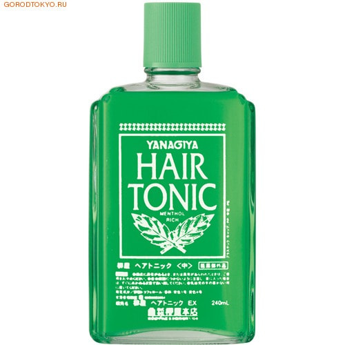 "Yanagiya ""Hair Tonic"" Тоник против выпадения волос, 240 мл. (фото)"