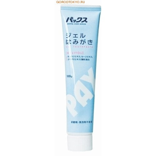Фото PAX Гелеобразная зубная паста с ксилитолом, 100 гр.. Купить в РФ