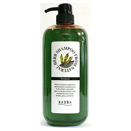 """Junlove """"Natural Herb Shampoo"""" Шампунь на основе натуральных растительных компонентов (с экстрактом бурых водорослей, для сильно поврежденных волос), 1 литр."""