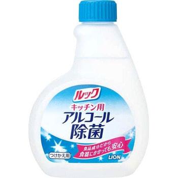 LION Антибактериальный спрей для кухни Look с содержанием спирта, 300 мл., сменный блок.Для кухни<br>Дезинфицирующее средство с содержанием спирта для мытья кухни ; кафеля, рабочей поверхности. Идеально подходит для мытья холодильника, печи и другой техники, которая используется на кухне.  Обладает антибактериальными свойствами.  Безопасно для кухонной утвари, использующейся для приготовления пищи. <br> Не требует смывания водой, благодаря специальному безопасному инградиенту, используемому в пищевой промышленности. <br> Состав: этанол, поверхностно активные вещества.<br>