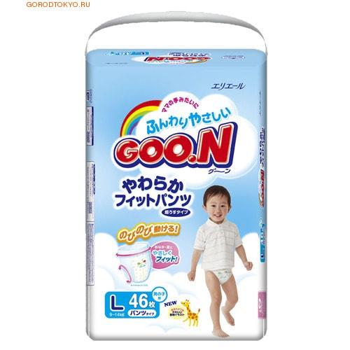 "Daio paper Japan Трусики ""Goon"", L - 9-14 кг., для мальчиков, 46 шт."
