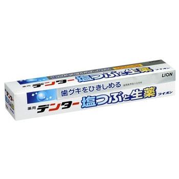 """LION Зубная паста """"Dentor"""" лечебно-профилактическая с экстрактом лекарственных растений и солью, снимает воспаление и укрепляет десны, 180 гр."""