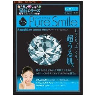 SUN SMILE Pure Smile Luxury Релаксирующая маска для лица с микрочастицами сапфира, 23 мл.