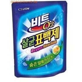 """CJ Lion Кислородный отбеливатель-порошок """"Beat O2"""" с эффектом стерилизации, 1,5 кг."""
