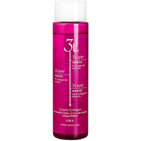 "JAPAN GALS ""3 Layers Collagen"" ����������� � ������������� ������ ��� ���� � ����������� ����������, 200 ��."