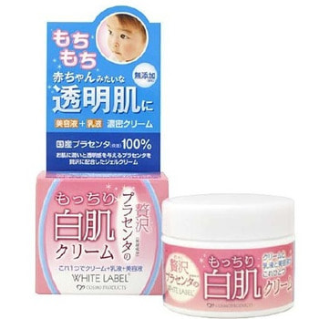 """MICCOSMO """"White Label Premium Placenta Essence"""" Увлажняющий и подтягивающий крем–гель с плацентой, 60 гр. (фото)"""