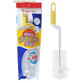 Chu Chu Baby Нейлоновая щетка для мытья детских бутылок. (фото)
