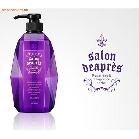 """Japan Gateway """"Salon Deapres"""" - шампунь без силикона, для повреждённых волос, 630 мл."""