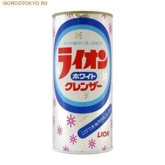 "LION Чистящий порошок ""White Cleanser"" с ароматом лимона, 400 мл."