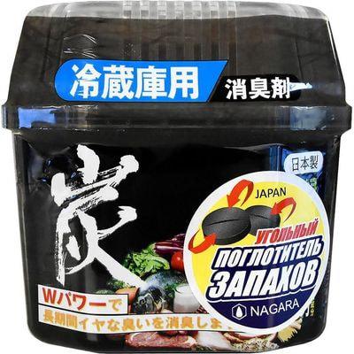 Nagara Древесный уголь для устранения запаха в холодильнике, 160 гр.