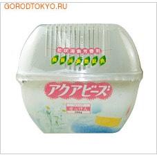 NAGARA Поглотитель запаха Aqua Bead, 200 мл.Для комнаты<br>Эффективно устраняет неприятный запах в туалете, прихожей и других помещениях.  Безопасен в применении. Обеспечивает свежесть и поддерживает чистоту в помещении.  Обладает ароматом цветов - артикул 003722. Обладает ароматом груши - артикул 003746. Обладает ароматом апельсина - артикул 003760. Обладает ароматом лаванды - артикул 003692. Обладает ароматом грейпфрута - артикул 003630.  Применение: снять пленки и установить в устойчивое место. Состав: вода 80%, абсорбирующие полимеры 5%, ароматизатор 2%, полиоксиэтиленалкиловый эфир 2%, дезодорирующие вещества зеленого чая 1%, изотиазолинон хлорида, изотиазолинон 1%, краситель 1%.<br>