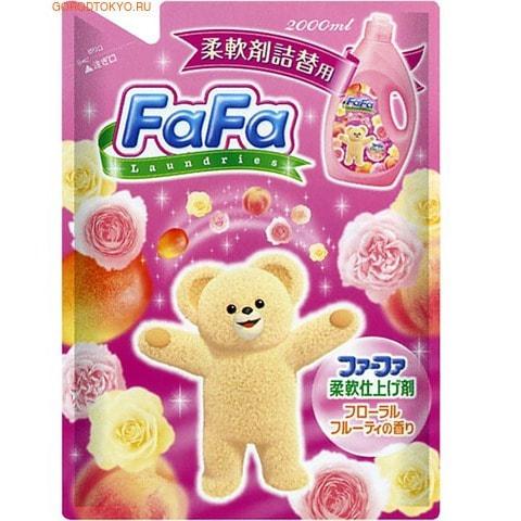 NISSAN Кондиционер для детского белья «Fa-Fa» c цветочно-фруктовым ароматом, 2000 мл., сменная упаковка.