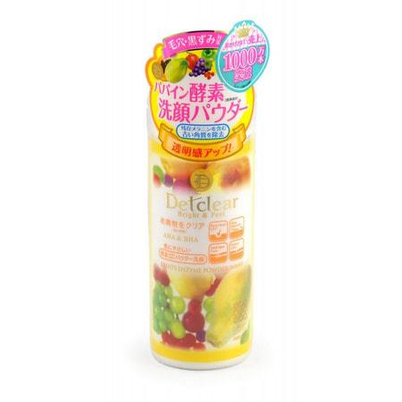 """Meishoku """"Aha&Bha Fruits Enzyme Powder Wash"""" Пудра для умывания с эффектом пилинга, 75 гр. (фото)"""