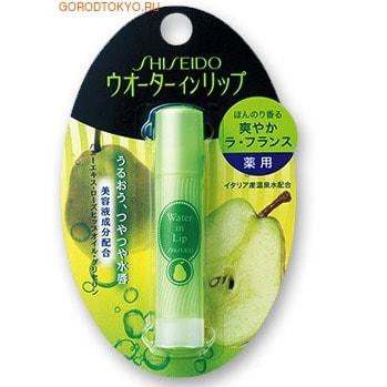 SHISEIDO Гигиеническая губная помада, увлажняющая, с ароматом французской груши, 3,5 гр.