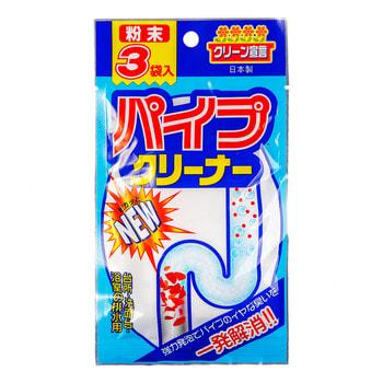 NAGARA Средство для чистки труб, 3 пакетика по 20 гр. поглотители запаха nagara nagara aqua beads поглотитель запаха гелевый 360 гр