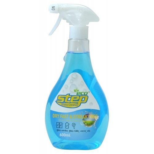 """KMPC """"Orange Step Glass Cleaner"""" Жидкое средство для стекол с апельсиновым маслом, 600 мл."""