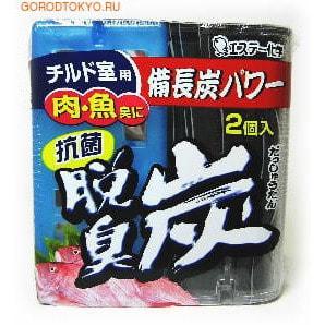 ST Dashshuutan Желеобразный дезодорант с древесным углем Бинчотан и лимонной кислотой для холодильника (охлаждающая камера), 55 гр. х 2 .Поглотители запахов для холодильника<br>Эффективно нейтрализует запахи свежего мяса, рыбы.<br><br>Благодаря содержанию древесного угля действует даже на резкие запахи.<br>Антибактериальная сила бамбука (содержит порошок гигантского бамбука);<br>Лимонная кислота природного происхождения помогает ликвидировать запахи рыбы, сырого мяса и квашеных продуктов;<br>Легко определить время замены (желеобразный уголь ; оригинальная разработка ST Kagaku - уменьшается в объеме);<br>В упаковке 2 шт., которые можно использовать раздельно(отсек для охлаждённых продуктов, отсек с температурой от -2 до +2, отсек частичной заморозки).<br><br> Способ применения : <br><br>Снимите плёнку с верхней части упаковки по линии отрыва.<br>Снимите крышку, удалите алюминиевую фольгу.<br>Наденьте крышку вторично и используйте.<br><br> Срок применения: обычно около 2-4 мес., в зависимости от окружающих условий. <br> Состав: активированный уголь, древесный уголь бинтётан, лимонная кислота,минеральный дезодорант, порошок гигантского бамбука (бамбука мосо).<br>