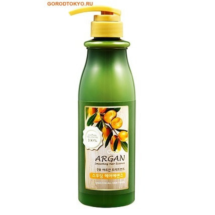 """WELCOS """"Confume Argan"""" Эссенция для гладкости волос с аргановым маслом, 500 мл."""