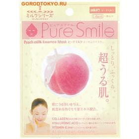 """SUN SMILE """"Pure Smile"""" """"Milk Mask"""" Молочная увлажняющая маска для лица с экстрактом листьев персика."""