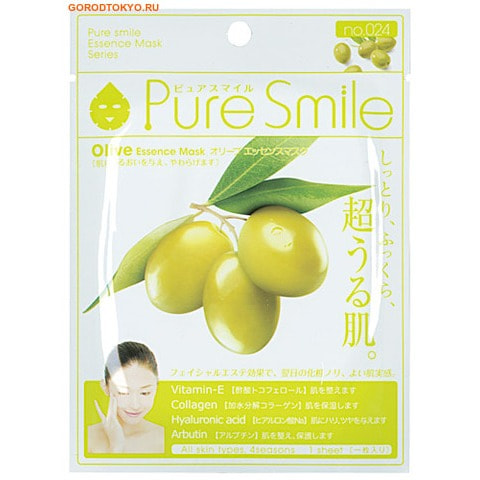 "SUN SMILE ""Pure Smile"" ""Essence mask"" ���������� ����� ��� ���� � ��������� �����."