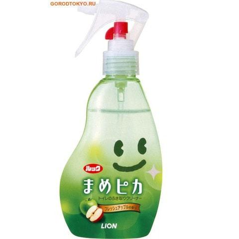 LION Моющее антибактериальное средство для туалета с ароматом яблока «Look Mame Рiкa», 210 мл.