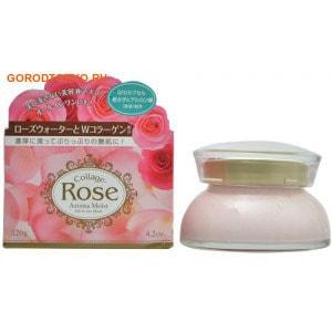 """B&C Laboratories """"Collagen Rose Aroma Moist"""" Увлажняющая крем-маска (смывать не нужно!) с эффектом ароматерапии, 120 гр."""