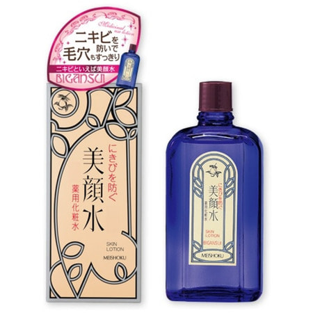 "Meishoku ""Bigansui Skin Lotion"" Лосьон для проблемной кожи лица, 80 мл. (фото)"