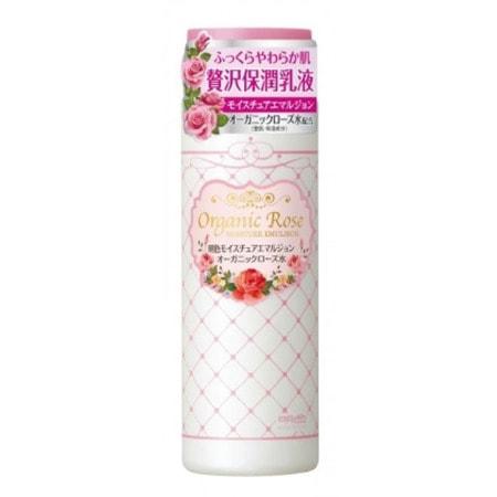 MEISHOKU Organic Rose Moisture Emulsion Увлажняющая эмульсия с экстрактом дамасской розы, 145 мл.