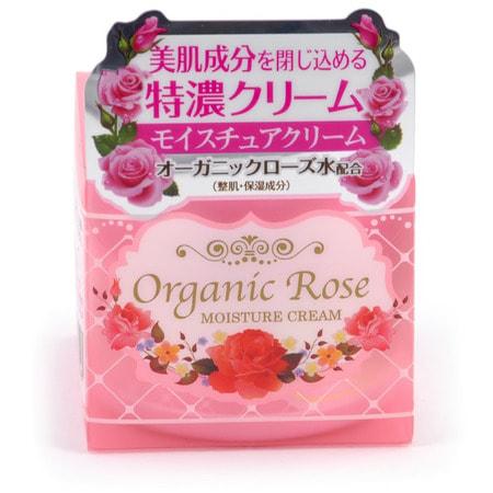 """Фото MEISHOKU """"Organic Rose Moisture Cream"""" Увлажняющий крем с экстрактом дамасской розы, 50 гр.. Купить с доставкой"""